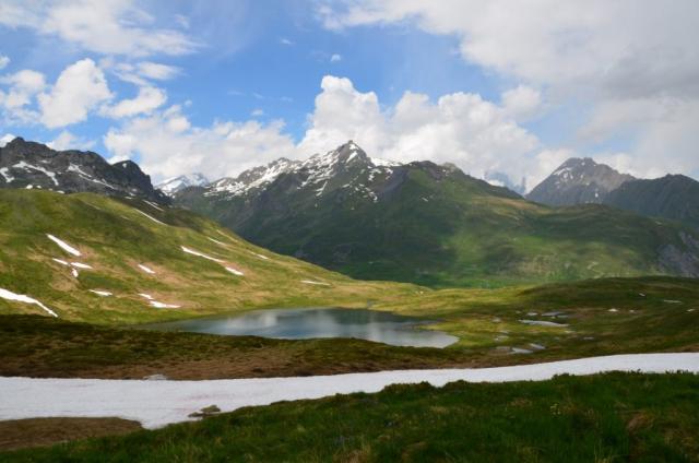 mountain scenery france alps